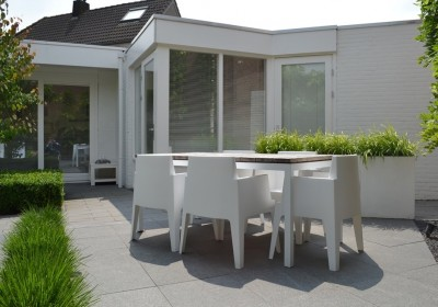 Moderne compacte exclusieve tuin