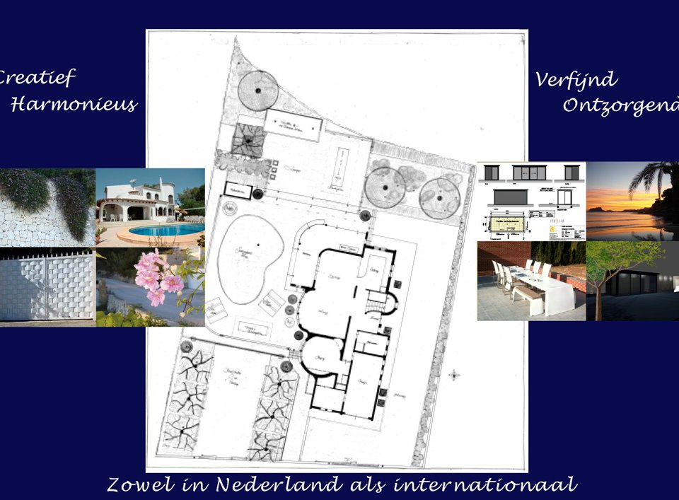 GARDENADVICE AND GARDENDESIGN FROM FLORERA WITH DETAILS IN THE SOUTH OF EUROPE.