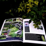 EXCLUSIEVE GARDEN MAGAZINE WITH PROF. INFORMATION IN THE NETHERLANDS, Marjan de Koning with FLORERA is present with a garden.