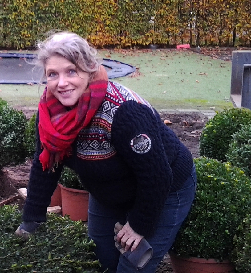 Gardenadvise and gardenimplementation in the Netherlands, Marjan de Koning.