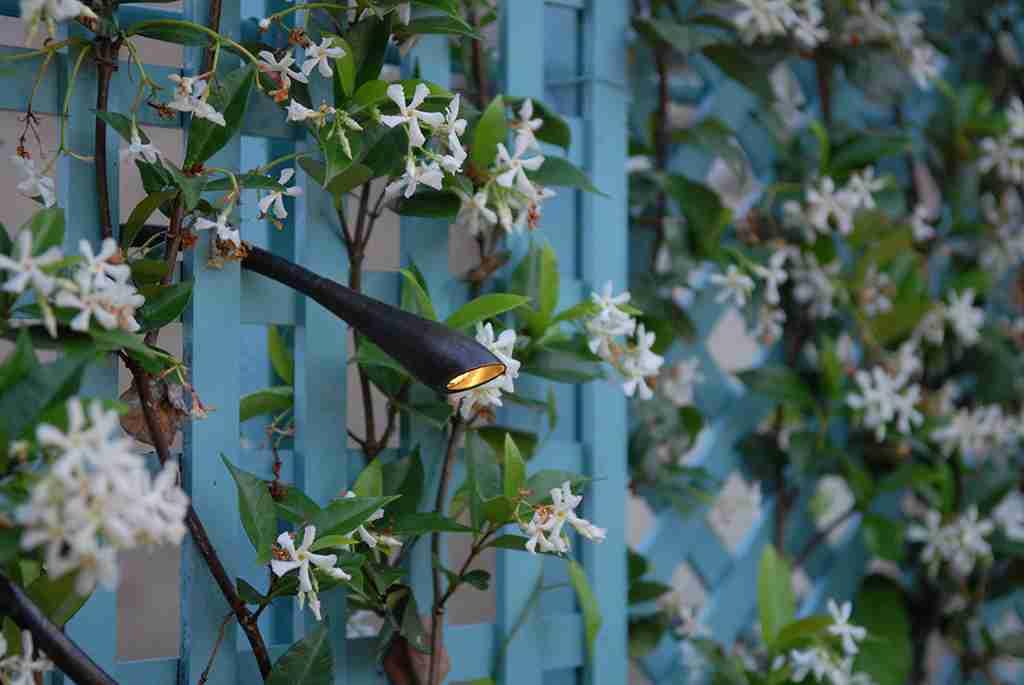 tuinbeleving tuinsfeer met tuinverlichtingen