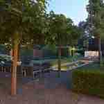 Tuin met licht in de avond-florera tuinconcept bijzondere tuinen-florera tuin in Nederland-florera.nl