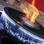 tuinontwerp met warme ambiance met vuur en waterelement via FLORERA tuinarchitect.