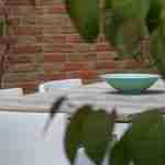 tuinsfeer rustige kleine moderne tuin van alle gemakken voorzien Heeze-tuinontwerpbureau florera.nl