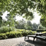 exclusieve tuin villa met vijver koi
