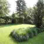 rust en krachtige lijnen in landelijke tuin van florera.