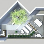 florera tuinarchitect en loungetuin 3D overzicht