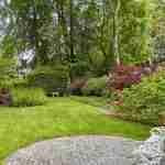 parktuin met tuinkamers en bloem in diverse tuinsferen