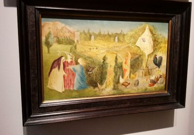 tuinen op de Tefaf Leonora Carrington- The Kitchen Garden 1946-kruiden in de tuin-florera.nl