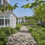 kantoorvilla Edufax en haar toekomstgerichte duurzame kantoortuin- florera.nl