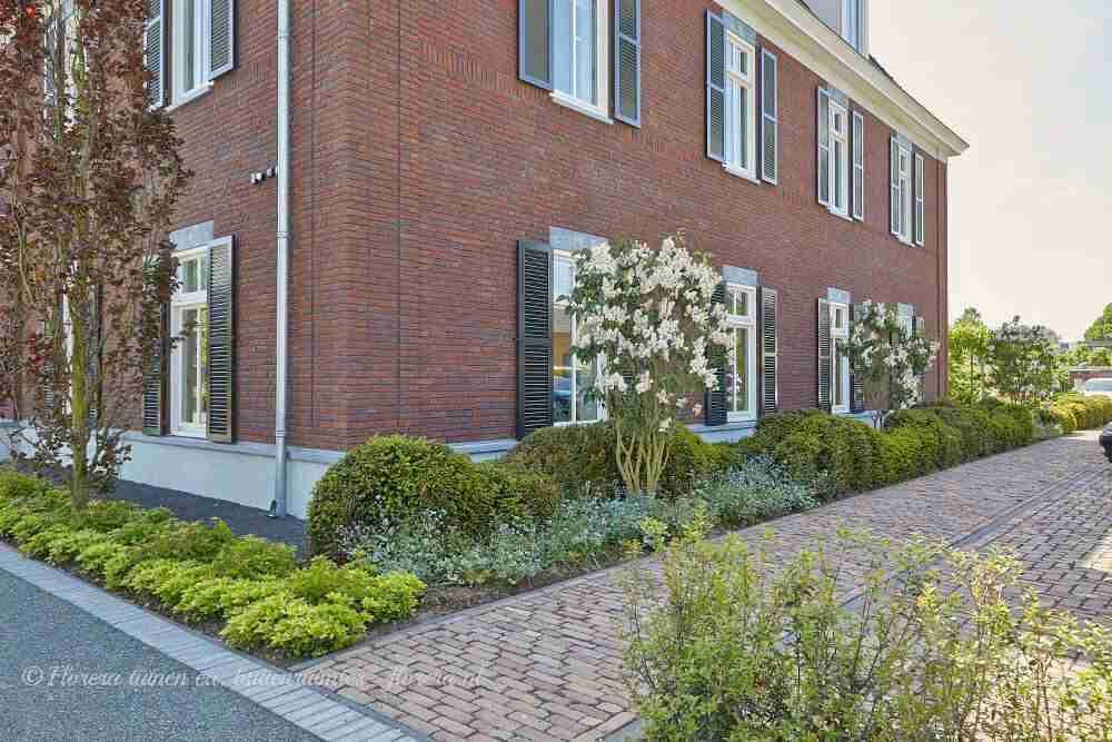 verbindingen leggen via toekomstgerichte tuin via florera.nl in Leende